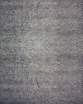 zoomable rug pattern image showing design of the alfredo grey hand tufted pure wool rug from the hali collection